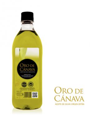 Aceite de Oliva Virgen extra Oro de Cánava