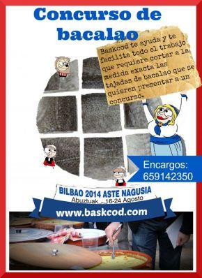 BASKCOD EN EL CONCURSO DE BACALAO DE FIESTAS DE BI