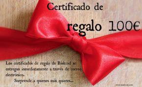 CERTIFICADO REGALO 100